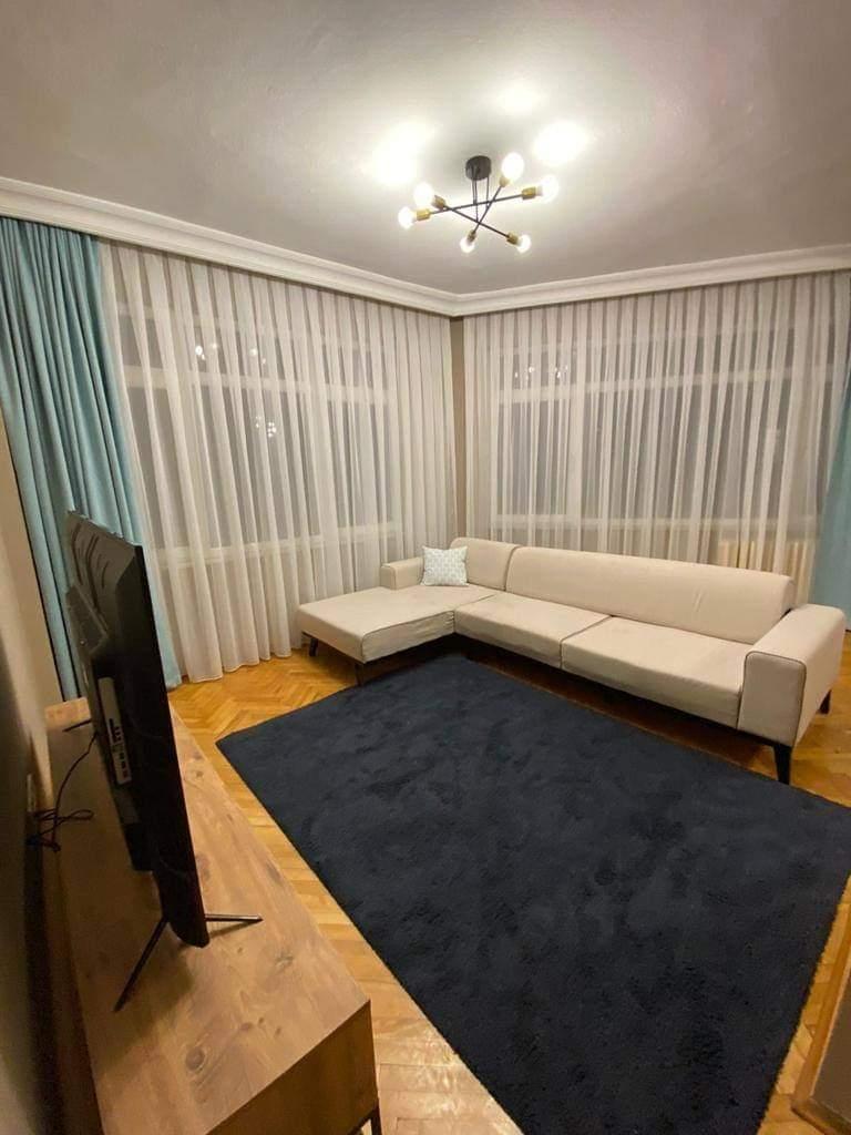 اعلان 970شقة غرفتين نوم وصالة مفروش لوكس للايجار السياحي بجانب محطة ميتروا عثمانبيه في شيشلي اسطنبول