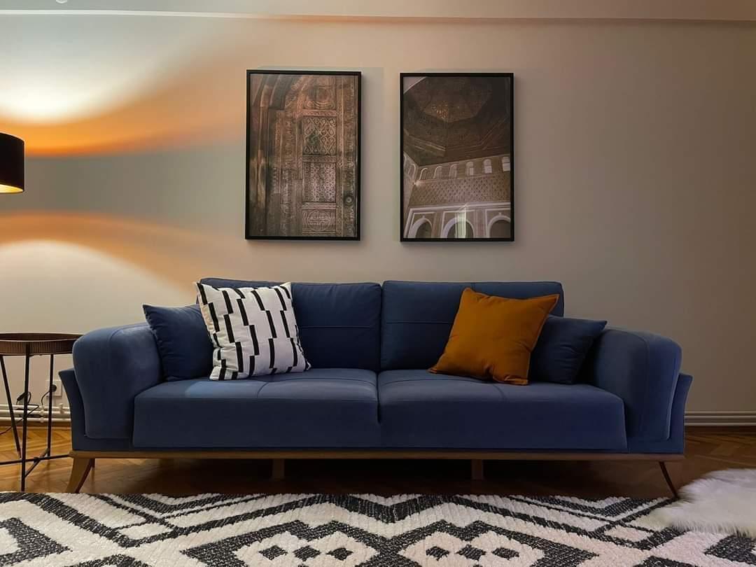 اعلان1002شقة ثلاث غرف نوم وصالة حمامين مفروش لوكس للايجار السياحي في حي نشانتاشي في شيشلي اسطنبول