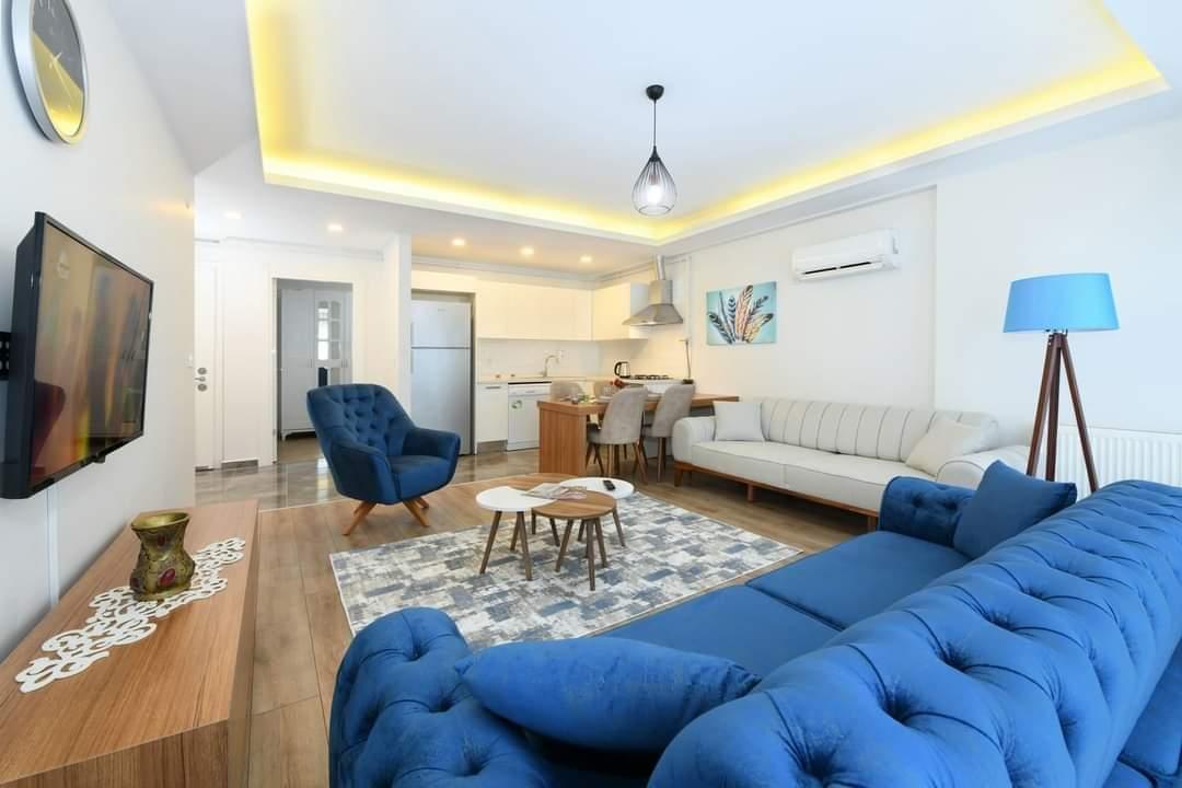 اعلان1007شقة غرفتبن نوم وصالة مفروش للايجار السياحي بالقرب من الميتروا ومول جواهر في شيشلي اسطنبول