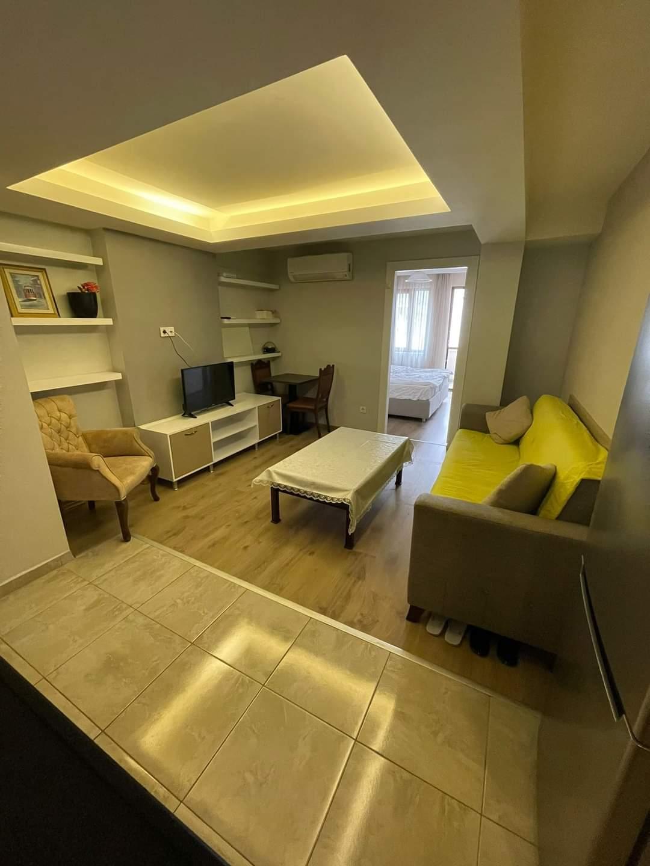 اعلان1008شقة غرف نوم وصالة مفروش لوكس للايجار السياحي قريب من ميتروا عصمان-بي في شيشلي اسطنبول